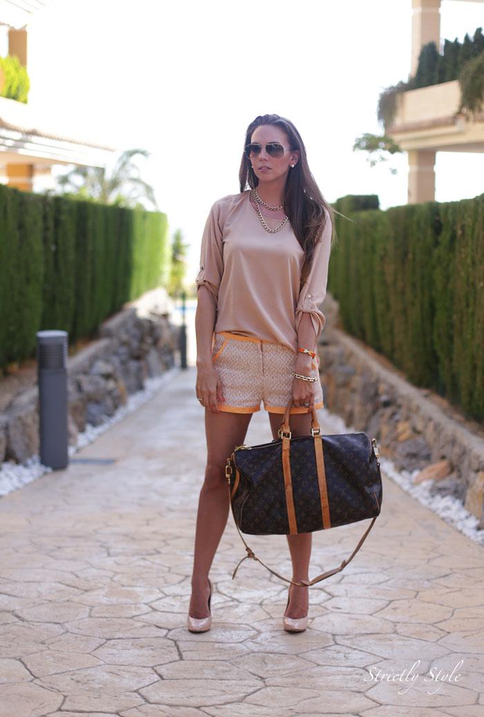 altea asu2 beige blouse orange beige shortsIMG_3037