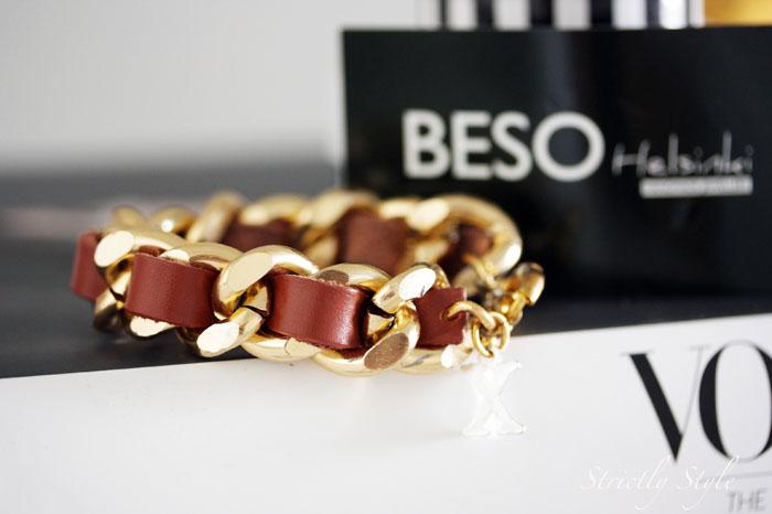 beso helsinki brown gold braceletb
