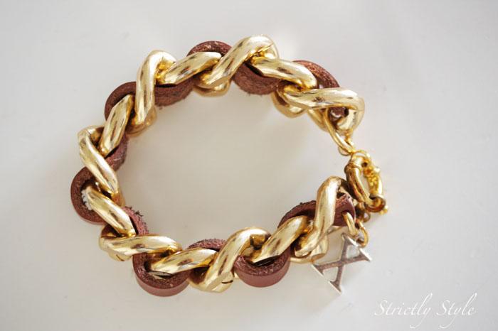 beso helsinki brown gold braceletc