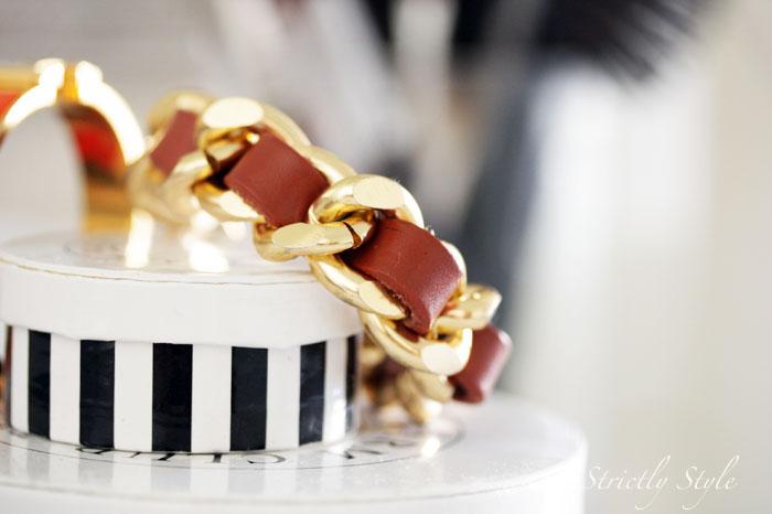 beso helsinki brown gold bracelete