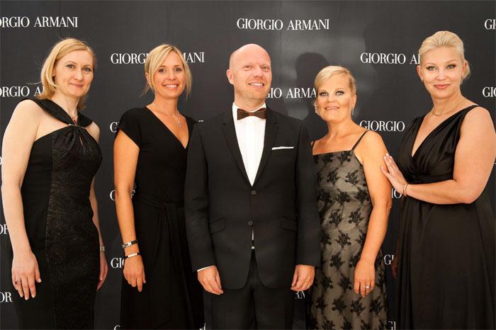 Armani Si-team