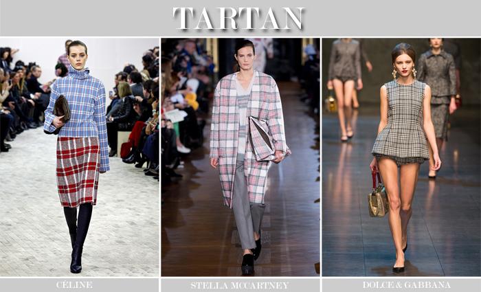 TARTAN PRINT TREND FW13