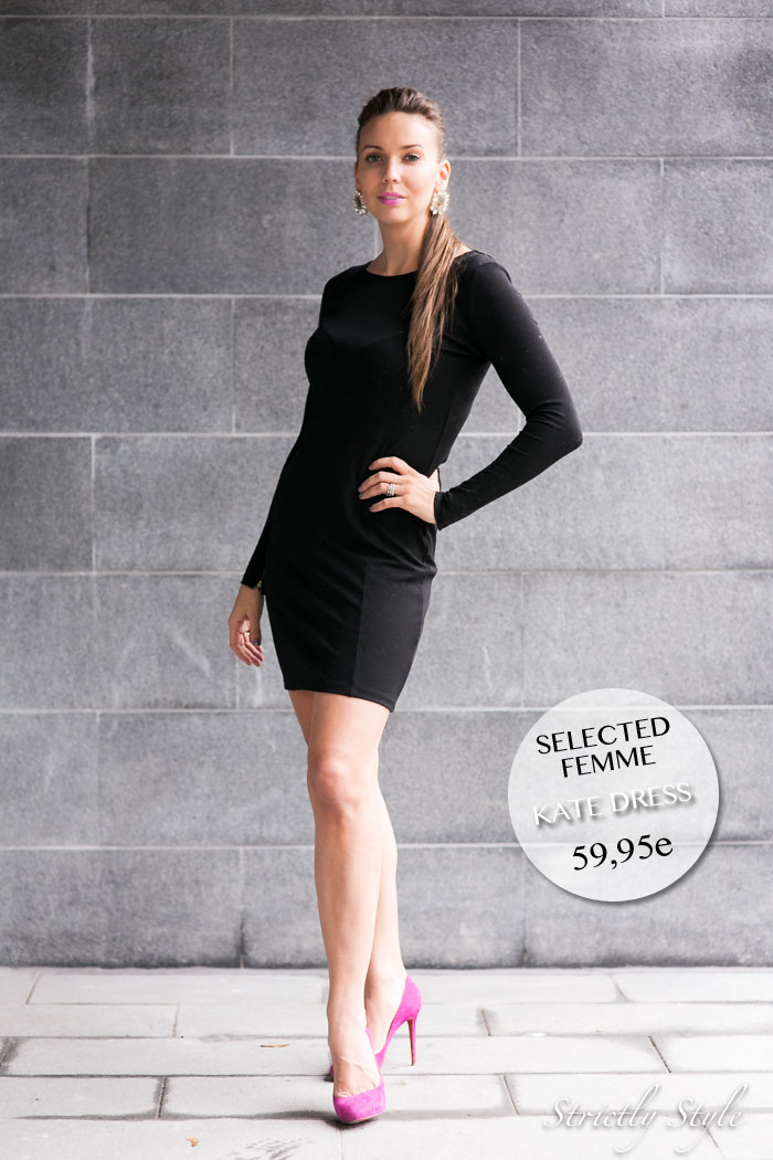selected kate dress