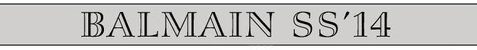 balmain title