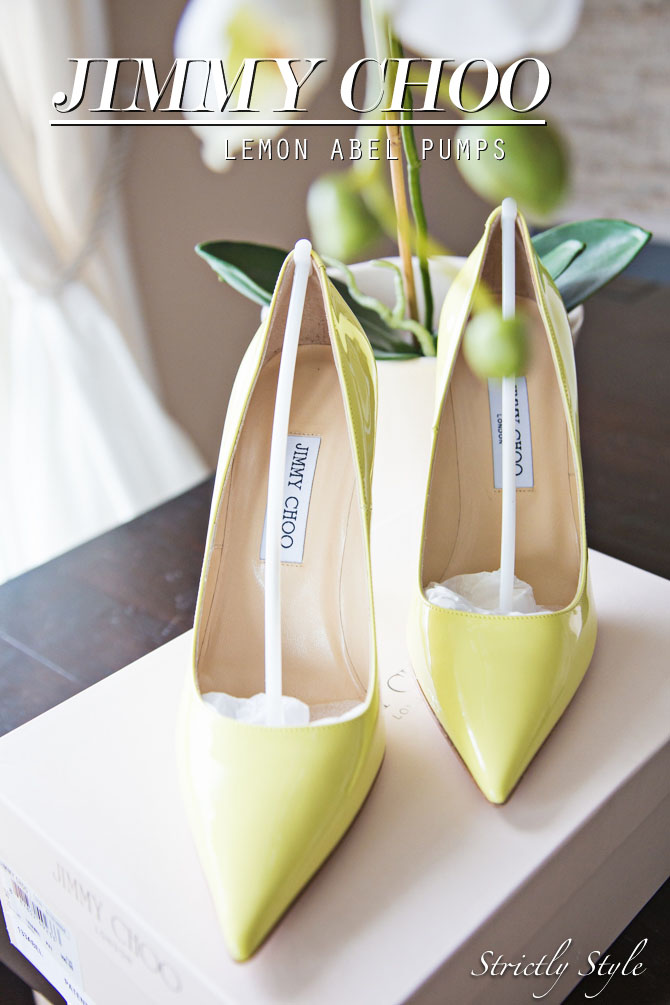 jimmy choo lemon sorbet stilettos pumps (2 of 10) TITLE
