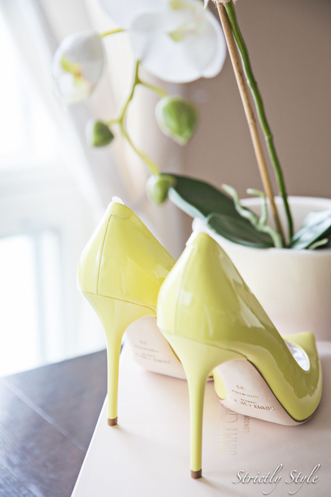 jimmy choo lemon sorbet stilettos pumps (4 of 10)