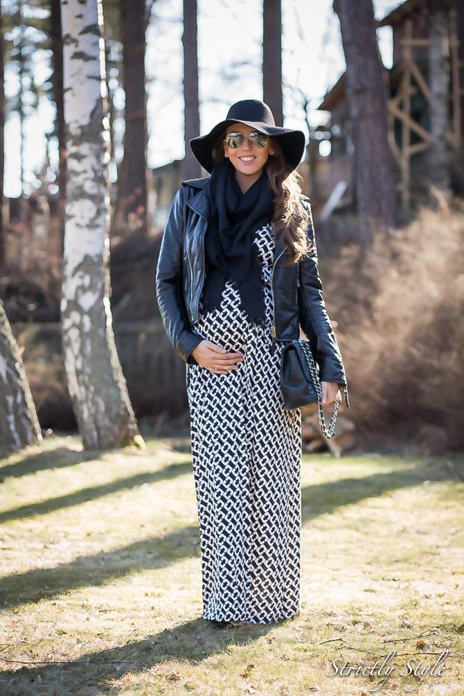maternity style DVF adele dress (1 of 4)