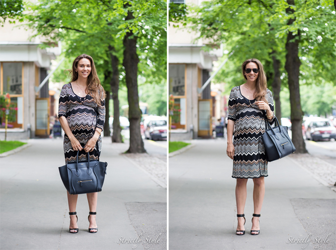 anniversary maternity outfit wrap dress