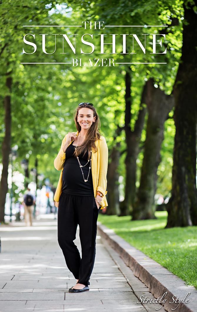 maternity style 9mths the sunshine blazer-