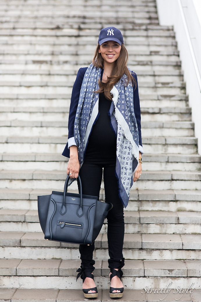 maternity style black and navy-0158