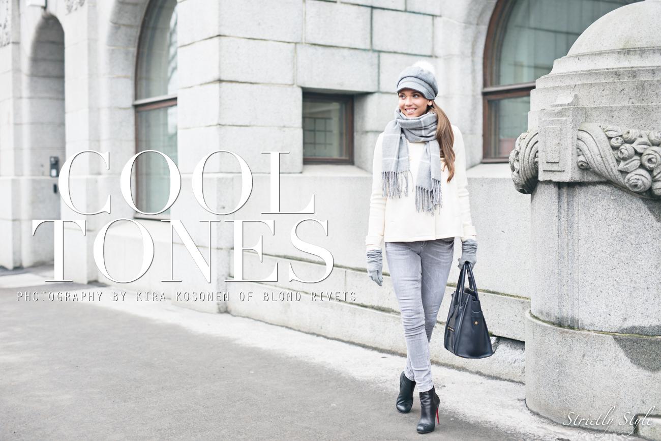 harmaa asu valkoinen takki bronda-9897TEXT
