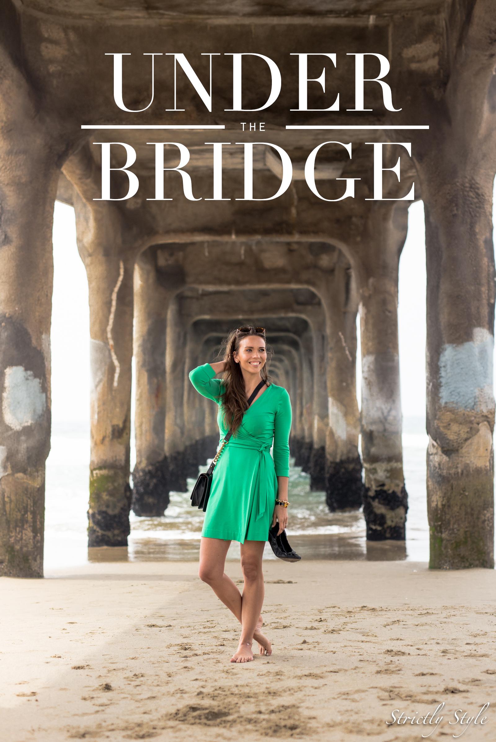 emerald green dvf dress manhattan pier-9521TITLE
