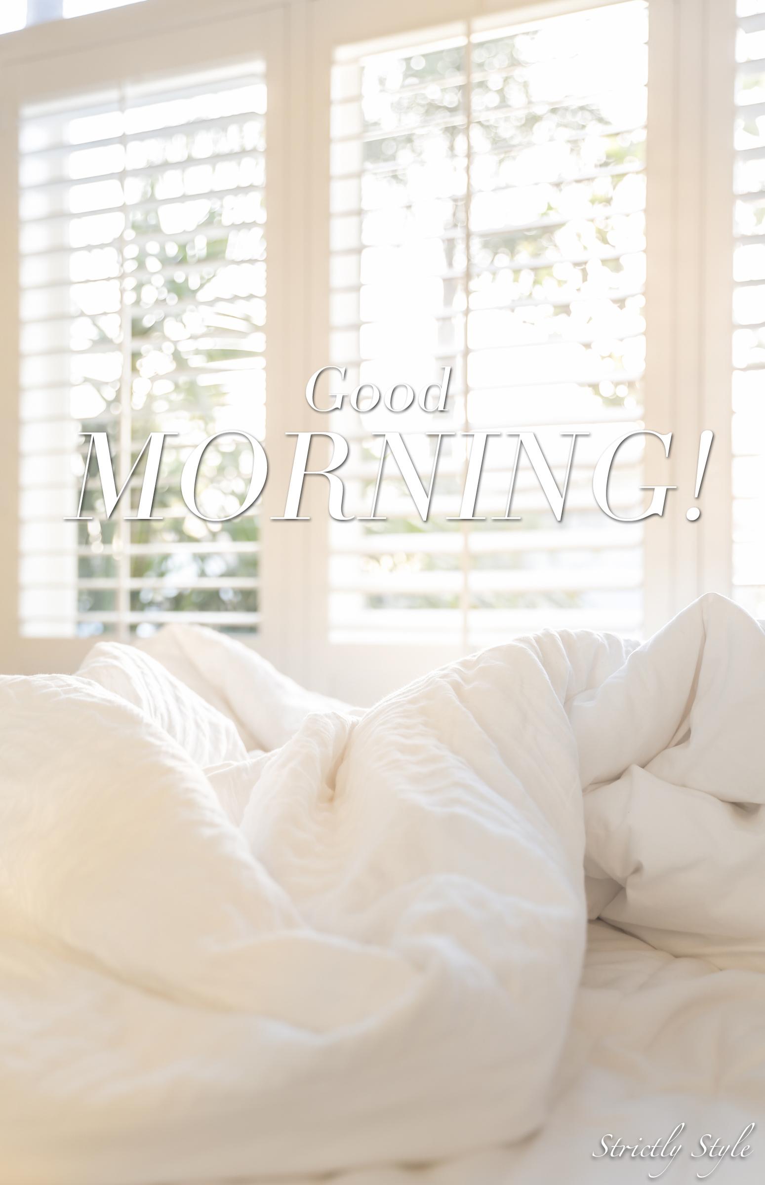 goodmorningsheets