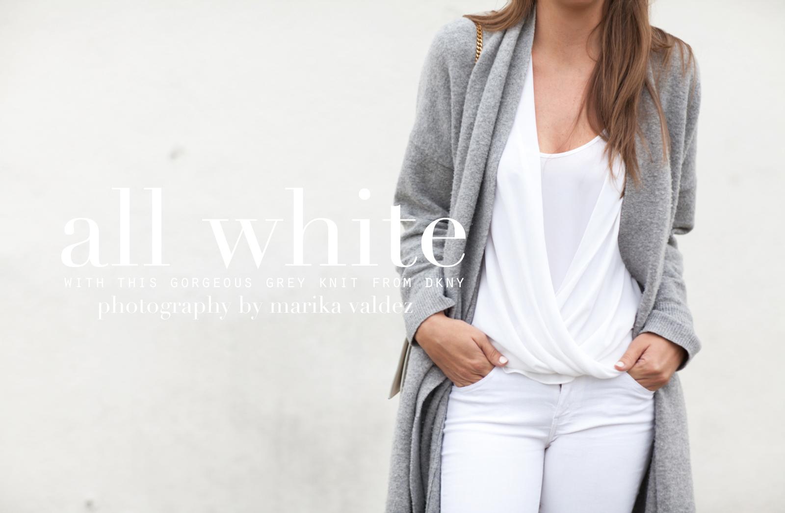 harmaa neule valkoiset housut long beach-5343title