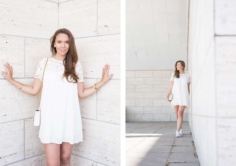 valkoinen mekko